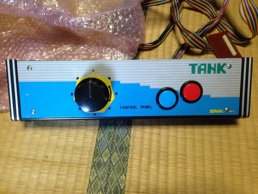 TANKのコンパネ写真です